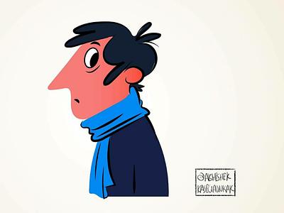 Character design cartoon sketch behance dribble men illustration illustrator adobe face digital sketch sketching cartoon character