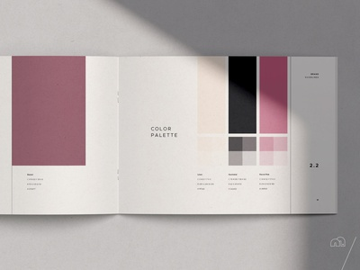 Brand Manual - SQRE minimalism minimal brand guideline look book template layoutdesign logodesign brand identity branding design brand design