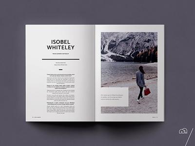 Travel Magazine - Xplore brochure travel design marketing layoutdesign layout magazine design magazine creative market