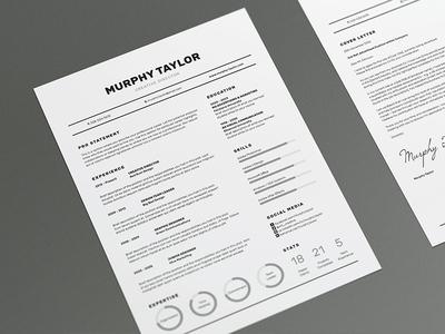 Resume/CV - 'Murphy'