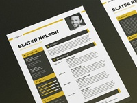 Resume/CV - 'Slater'