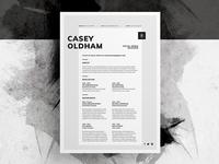 Resume/CV - 'Casey'