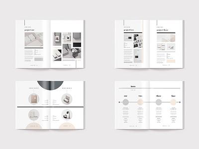 Inara - Proposal portfolio clients business creative market indesign template proposal