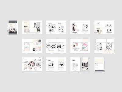 Inara - Portfolio proposal template indesign creative market business clients portfolio