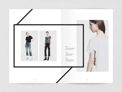 Ashi - Lookbook Template portfolio modern indesign template lookbook indesign minimalist minimal fashion creative market catalogue book