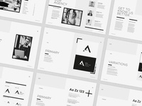 Ashi - Brand Book Template