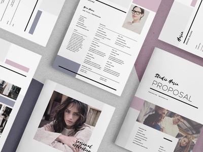 Hasia - Pitch Pack estimate pitch pack proposal lookbook resume invoice mood board brand board creative market