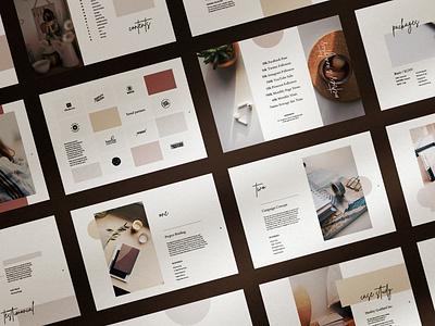 Kymila - Media Kit price list presentation entrepreneur creative market photoshop template indesign template press kit media kit