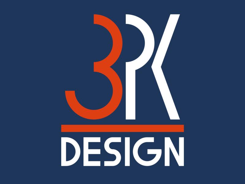 Welcome to 3PK Design flat icon branding illustration design logo