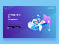 Landing Page Exploration for Robotic Surgery