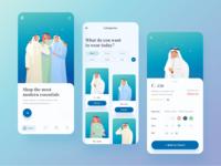 Mobile app exploration for arabian fashion