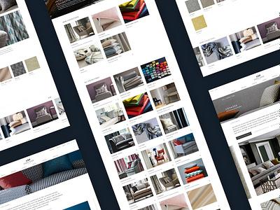 James Hare Website redesign silk quality luxury brand luxury ecommerce responsive home interiors website ux ui digital design
