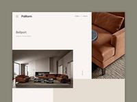 Poliform concept product page