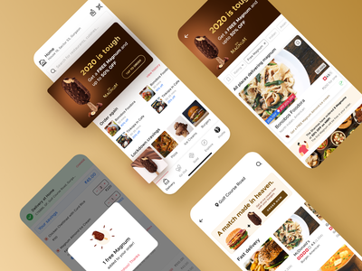 Zomato x Magnum food app uiux ui design magnum icecream zomato india dribbble invite dribbble best shot dribbble aftereffects user interface user experience