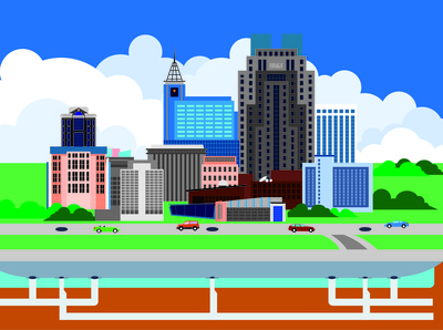 City Creative Skyline