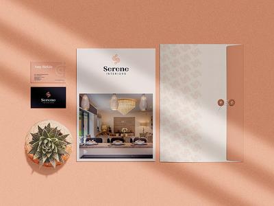 Serene Interiors Branding