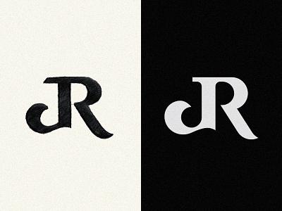 JR monogram logo letter logo logolearn hand drawn sketch mark symbol visual identity brand identity type typography minimalist logo monogram logo lettermark branding fashion brand monogram letter mark logomark logotype logoconcept logodesign