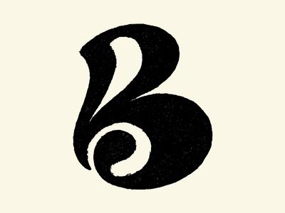 Letter B exploration textured sketch hand drawn type art letterlogo type design lettering monogram logo logocollection monogram letter mark branding logo lettermark typography 36daysoftype type logotype logomark logoconcept logodesign