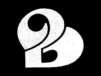 B exploration textured sketch hand drawn lettering custom type type daily 36daysoftype type design type art type illustration type typography branding logo lettermark logomark monogram letter mark logotype logoconcept logodesign