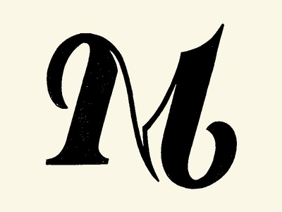 Letter M 36daysoftype textured sketches hand lettering type challenge letter logo type treatment type daily type design type art symbol illustration lettering type typography lettermark logotype branding logomark logodesign