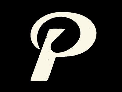 Letter P textured letter love symbol logolove letter logo handlettering handdrawntype type design type art letter p 36daysoftype illustration lettering type typography lettermark logotype branding logomark logodesign