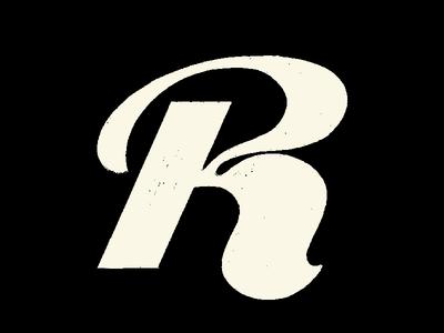 Letter R letter r 36daysoftype type challenge letter logo handlettering hand drawn type treatment type design type daily type art symbol lettering branding typography type illustration lettermark logotype logomark logodesign