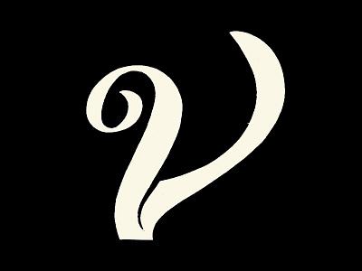 Letter V lettering art handlettering type design type art type daily hand drawn hand drawn type sketches letter v letter logo 36daysoftype lettering lettermark logomark type typography logotype branding illustration logodesign