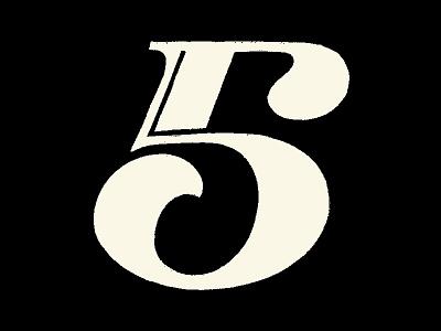 Number 5 lettering artist dribbble numerals hand sketched hand drawn lettering challenge 36daysoftype lettering logo lettering art lettering illustration branding logotype logo type typography logoconcept logodesign logomark lettermark
