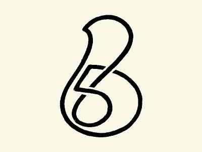 Number 6 typedesign type daily lettering art dribbble drawing glyphs handlettering hand drawn 36daysoftype custom type logotype illustration lettering custom lettering branding type typography lettermark logomark logodesign