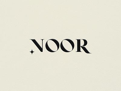 Noor Brand Identity brand identity visual design clothing brand graphicdesign visual identity minimalist monogram letter mark lettering logo minimalist logo logoconcept lettermark logotype branding logomark logodesign