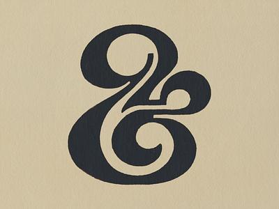 Ampersand lettering logo design glyphs type logo scanned visual design lettering graphic design sketch branding illustration logoconcept logodesign logomark logotype typography lettermark