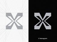 'X' Monogram