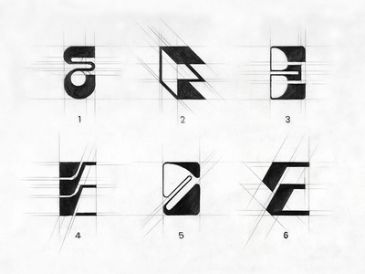 lettermarkexploration 'E' dribbble type abstract logo lettering architecture logo creative logo logoideas sketches minimalist logo typography lettermark logocollection monogram logo monogram letter mark logotype logo branding illustration logoconcept logomark