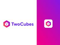 TwoCubes Logo Branding