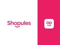Shopules branding logo