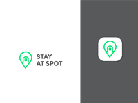 STAY AT SPOT LOGO