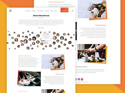 About Moorhouse digitalart graphical uiux client portfolio