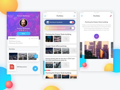 Paintaire design trends uiux mobile app