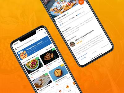 Food mobile app design trends colourgradients uiux