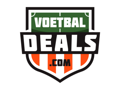 Voetbaldeals logo football soccer design brand identity final new identity