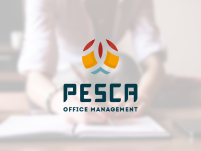 Logo office management logo design corporate identity brand