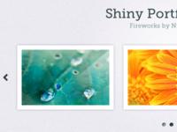 Shiny Portfolio Slider