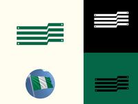 Nigerian Flag (I Need dribbble invites)