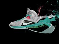 Nike Shoe Splash