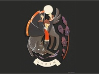 Lupin Illustration