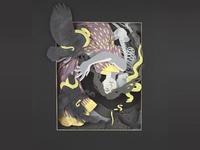 Eris - Paper Illustration