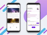 WIKI - A Encyclopedia App | Material 2.0 Design |