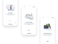 Redesigned Onboarding Screen For UTS mobile app