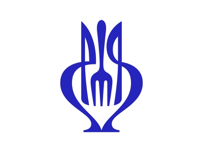 wip knife fork spoon jug symbol mark logo
