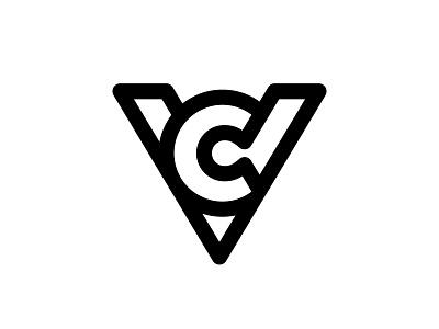 VC 1 vc monogram c v vc logotype typography letter monogram symbol mark logo